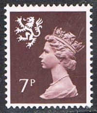 Scotland SG S24 1978 7p unmounted mint